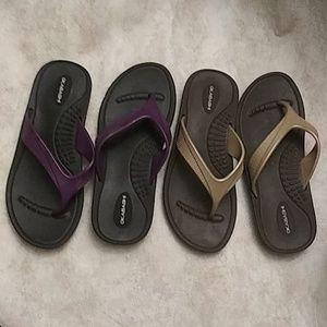Okabashi Flip Flops (2)